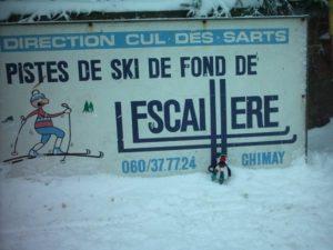 Pistes de ski gite des frontières